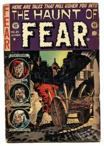 Haunt of Fear #21 1953  EC horror comic- Ingles- Jack Davis G