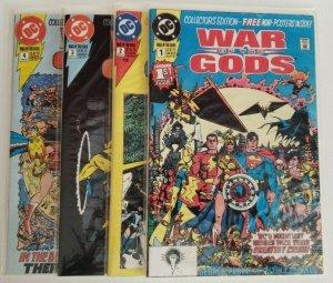 War of the Gods 1-4 Complete Set 1991 DC George Perez, Braun, Martin NM 9.4