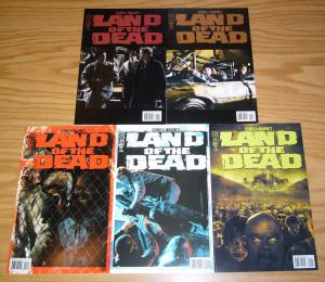George A. Romero's Land of the Dead #1-5 VF/NM complete series - photo variants