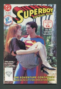 Superboy #1 (2nd Series) / 9.2 NM-  February 1990