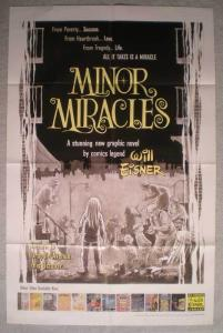 MINOR MIRACLES Promo Poster, 22x34, 2000, Unused, more in our store