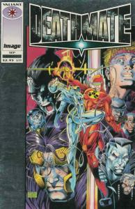 Deathmate #1 VF/NM; Valiant | save on shipping - details inside