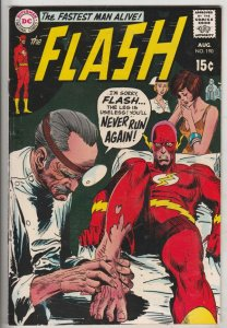 Flash, The #190 (Aug-69) FN/VF+ High-Grade Flash
