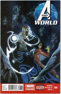 Avengers World #8 Gabrielle Dell'Otto Euroforce Black Knight NM