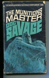 DOC SAVAGE-THE MUNITIONS MASTER-#58-ROBESON-G-JAMES BAMA COVER-1ST EDITION G