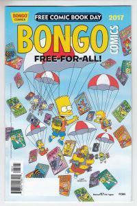 BONGO COMICS FREE-FOR-ALL (2017 BONGO COMICS) #1 Unstamped NM-  FCBD 2017
