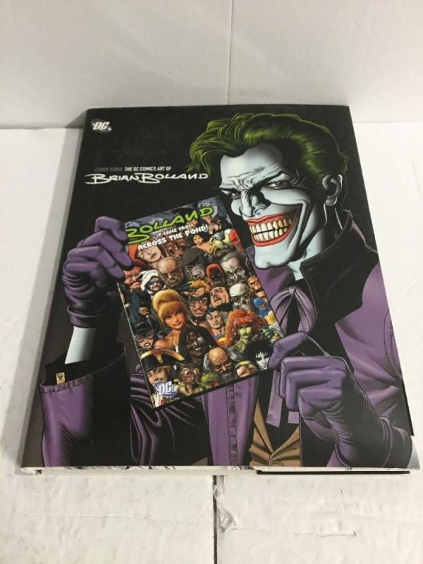 Cover Story DC Comics Art Of Brian Bolland With Dust Jacket