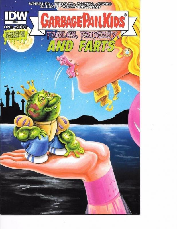 GARBAGE PAIL KIDS #1, NM, Fables, Fantasy, Farts, IDW, 2015, more in store