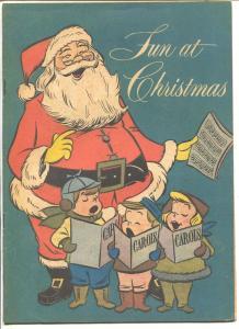 March Of Comics #138 1955-Christmas-Santa Claus-Maas Brothers-Rare-VF