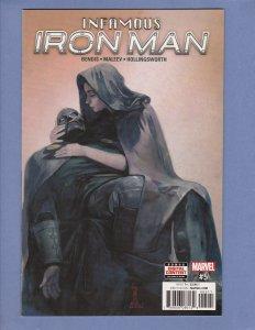Infamous Iron Man #5 NM- Dr Doom as Iron Man Thing Marvel 2017 1st Print