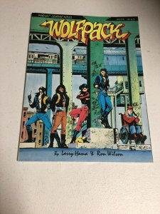 Wolfpack A Marvel Graphic Novel Nm Near Mint Larry Hama Ron Wilson