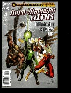6 Rann-Thanagar War DC Comics # 1 2 3 4 5 6 Green Lantern Hawkgirl Sci-Fi GK24