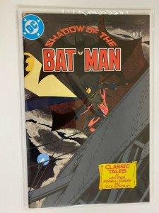 Shadow of the Batman #5 final issue 8.0 VF (1986)