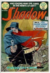 SHADOW #2, VF+ to NM, Kaluta, Freak Show Killer, Guns, Evil, 1973, Bronze age