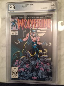 Wolverine 1 9.8 PGX (like CGC)