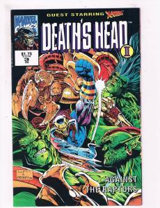 Deaths Head 2 # 3 VF/NM Marvel Comic Books Die Cut Wild Thing Major Mayhem! SW11