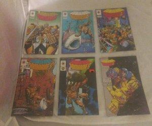 Lot of 11 Valiant Comics 1994 Armorines 1-11 (1 2 3 4 5 6 7 8 9 10 11) VF NM
