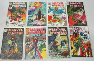 Marvel Fanfare from:#1-50 20 difference 8.0 VF (1982-90)