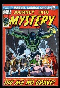 Journey into Mystery (1972) #1 VF 8.0