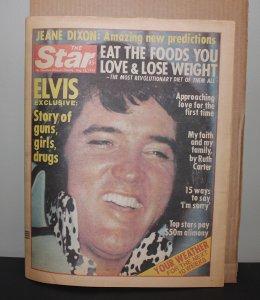 Elvis Presley Star Paper August 23, 1977