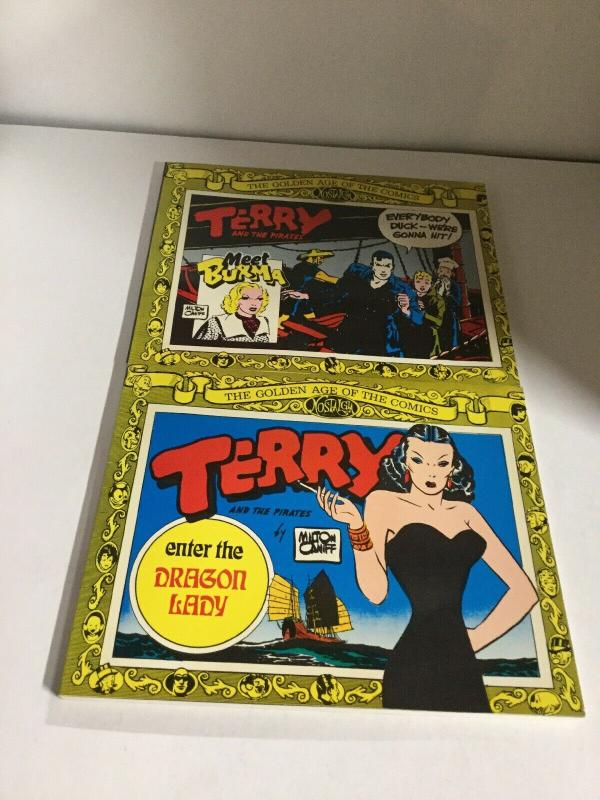 Terry And The Pirates Meets Burma Enter The Dragon Lady Lot Oversized Sc B15