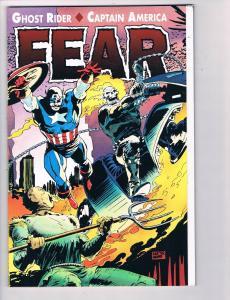 Ghost Rider Captain America Fear # 1 NM Marvel Comic Books Graphic Novel B95