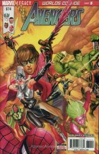 Avengers, The #674 VF; Marvel | save on shipping - details inside