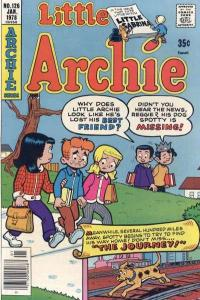 Little Archie #126, VF+ (Stock photo)