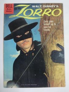 ZORRO #10 (Dell,6/1960) (FINE;F) Photo Cover! Walt Disney!