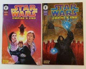 Star Wars: Empire's End #1-2 Complete Set Dark Horse Comics 1995 NM Han Solo