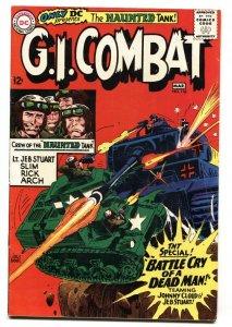 G.I. COMBAT #116 HAUNTED TANK STORY 1966-DC-JOE KUBERT COVER- VF-