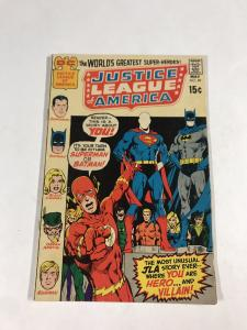 Justice League Of America 89 5.5 Fn- Fine- Dc Silver Age