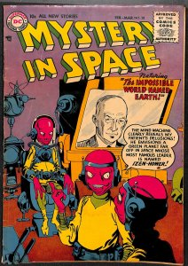 Mystery In Space #30 VG- 3.5
