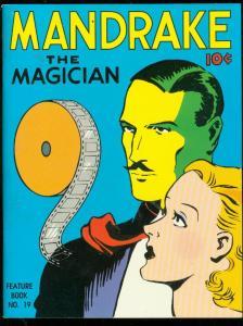 MANDRAKE THE MAGICIAN-FEATURE BOOK #19 McKAY REPRINT ED NM