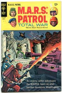 M.A.R.S. Patrol Total War #6 LINCOLN MEMORIAL BATTLE CVR VG