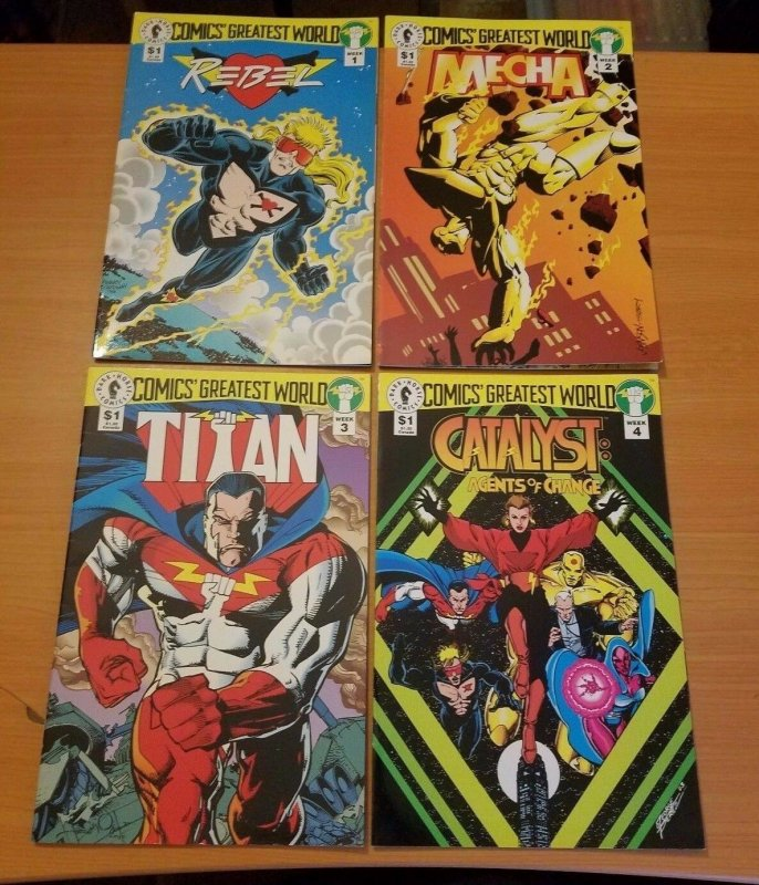 Comics Greatest World Golden City 1-4 Complete Set Run! ~ NEAR MINT NM ~ 1993