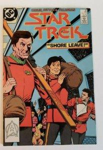Star Trek Comic Issue 46 Copper Age First Print 1988 Carlin Sutton Villagran VF-
