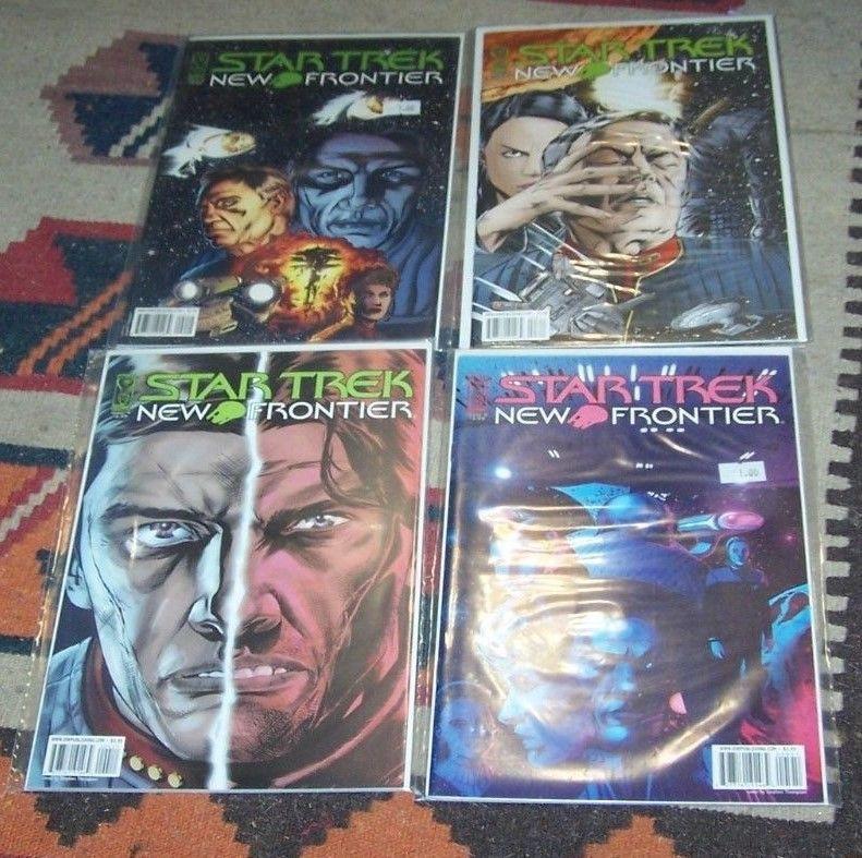 Star Trek: New Frontier #2 3 4 5  ( 2008, IDW) PETER DAVID EXCALIBUR