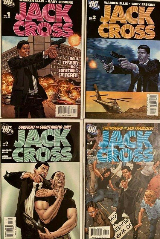 Jackcross set:#1-4 8.0 VF (2005)