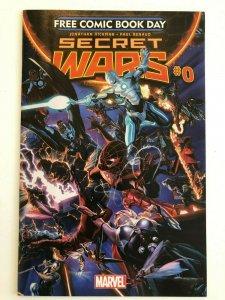 Secret Wars #0  Free Comic Book Day FCBD Jonathan Hickman, Paul Renaud NM