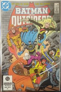 Batman and the Outsiders  #7 VF