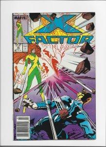 X-Factor #18 (1987) VF+ 8.5 Newsstand Edition!!