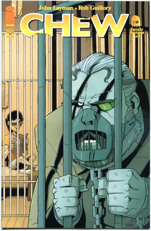 CHEW #38, 1st Print, NM, Rob Guillory, John Layman, more in our store