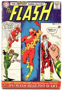 FLASH #157 1965-OLDEST MAN ALIVE-DC COMICS-THE TOP FR