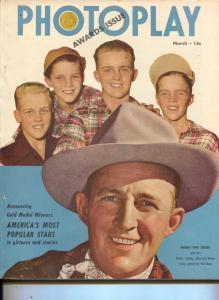 Photoplay-Bing Crosby-June Allyson-Farley Granger-Bob Hope-March-1949