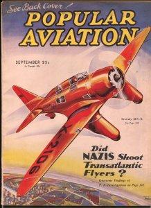 Popular Aviation 9/1934-Nazis-Seversky SEV-3L-H.R. Bollin-FN