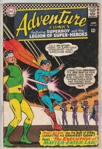 Adventure Comics #345 (Jun-66) VG+ Affordable-Grade Legion of Super-Heroes, S...