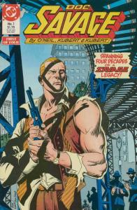 Doc Savage (Mini-Series) #1 FN; DC | save on shipping - details inside