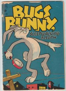 Four Color #233 (Jul-49) GD Affordable-Grade Bugs Bunny, Elmer Fudd, Porky Pi...