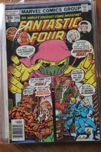 FANTASTIC FOUR #196 (Marvel,1978) Condition FN